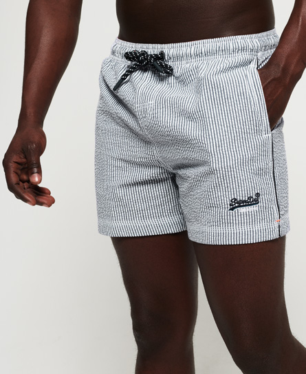 Superdry Superdry Seersucker Volley badeshorts