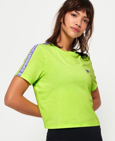Superdry Superdry Kort Core T-shirt med branding