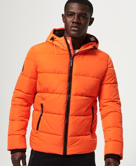 Superdry New House Sports Steppjacke | Sportbekleidung > Sportjacken > Steppjacken | Orange | Rumpf: polyester 100%| innenfutter: polyester 100%| wattierung: polyester 100%| | Superdry