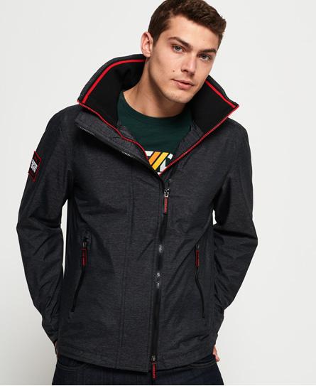 Superdry Superdry Technical Pop SD-Windcheater jakke med hætte og lynlås