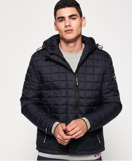 Superdry Superdry Fuji jakke med hætte og firkantsquiltning