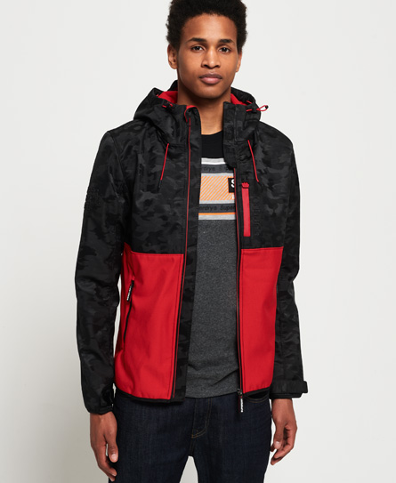 Superdry Superdry CNY SD-Windtrekker jakke med hætte