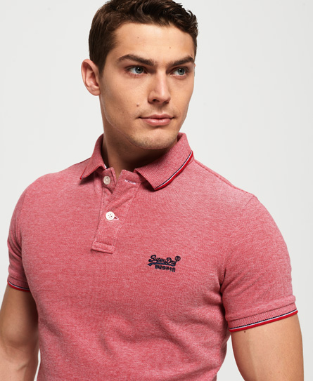 Superdry Superdry Poolside poloshirt i piqué