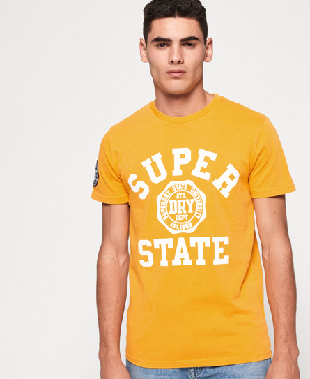 Se Superdry Superdry Upstate Wash T-shirt ved SuperDry