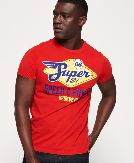 Superdry Superdry Klassisk Reworked T-shirt i en let kvalitet