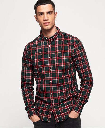 Superdry Superdry Oxford Washbasket skjorte