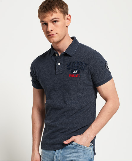 Superdry Superdry Superstate Shadow poloshirt