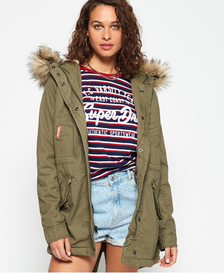 Superdry Superdry Heavy Weather Rookie parka med fishtail