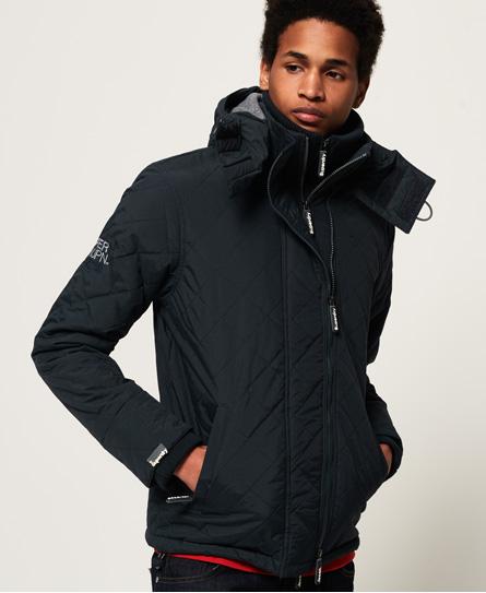Superdry Superdry Quiltet Polar SD-Windcheater jakke med hætte