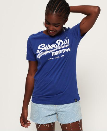 Superdry Superdry Vintage Logo Linear Sport T-shirt