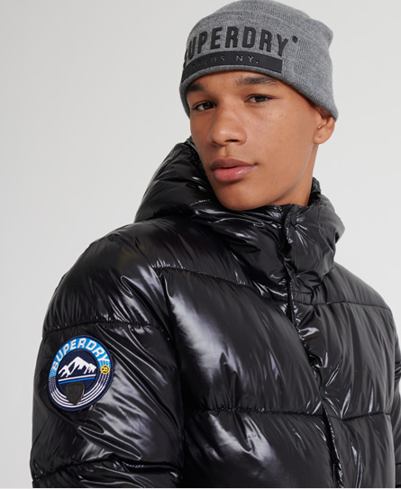 Blouson aviateur en cuir Light - Superdry - Modalova