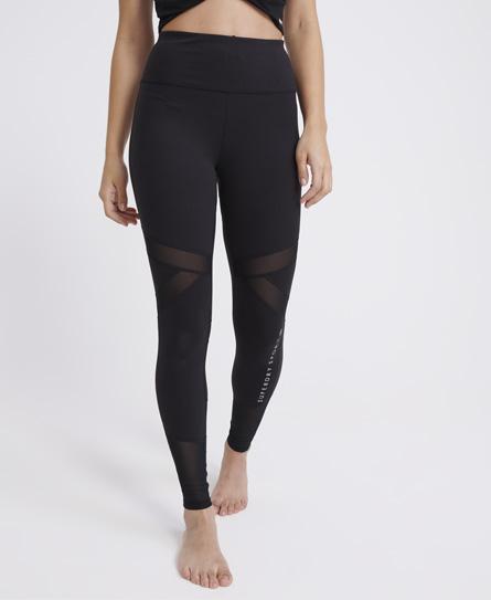 Superdry Studio Leggings In Black