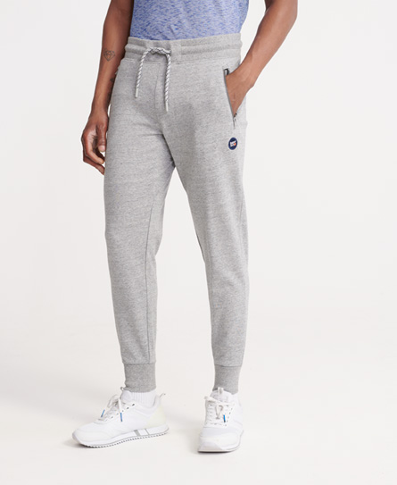 Superdry Collective Loopback Sweatpants In Grey