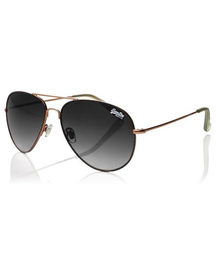schwarz Superdry Huntsman Sonnenbrille