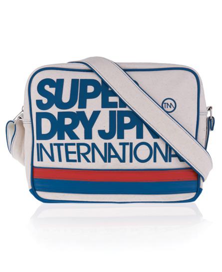 Superdry International Alumni Bag White