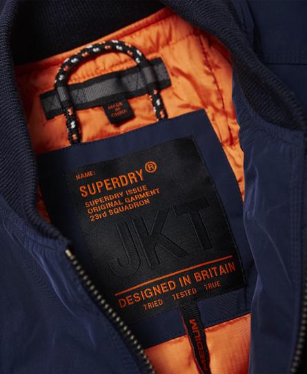 Superdry Wax Flight Bomber Jacket