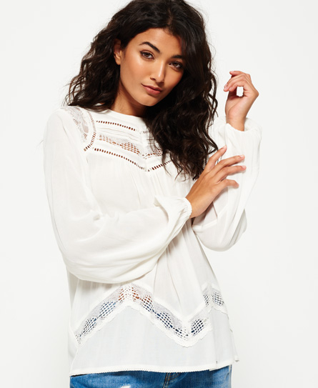 Superdry Superdry Daisy Floaty bluse