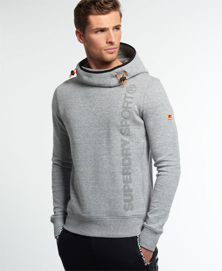 Superdry Gym Tech Funnel Neck Hoodie - Men's Hoodies
