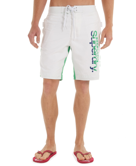 Superdry Southwest Boardshort White
