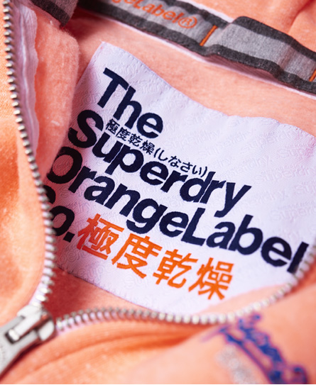 Superdry Orange Label Primary Zip Hoodie
