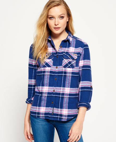 Milled Flannel Hemd