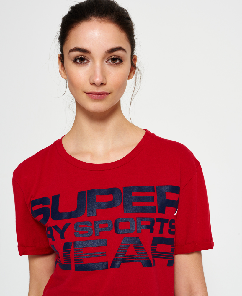 Superdry-Womens-Cropped-T-Shirt thumbnail 15