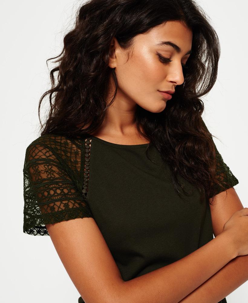 Superdry-Embroidered-Raglan-T-shirt thumbnail 11