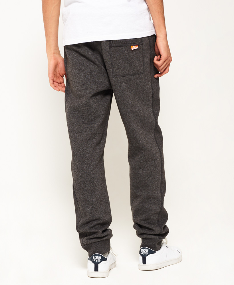 It is a graphic of Slobbery Orange Label Cali Joggers
