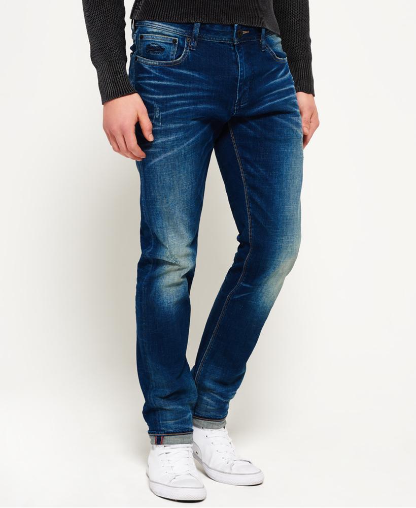 Details zu Superdry Corporal Slim Jeans