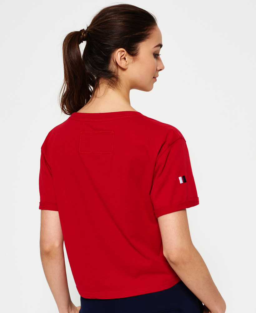 Superdry-Womens-Cropped-T-Shirt thumbnail 14