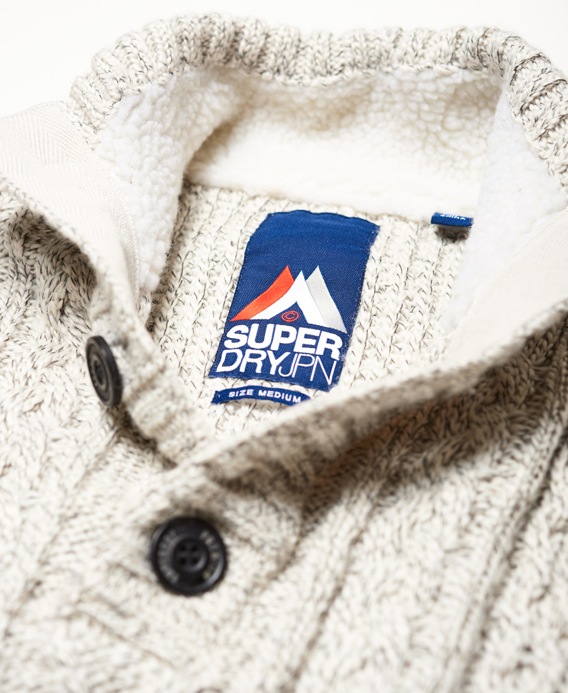 Superdry-Herren-Mariner-Henley-Pullover Indexbild 18
