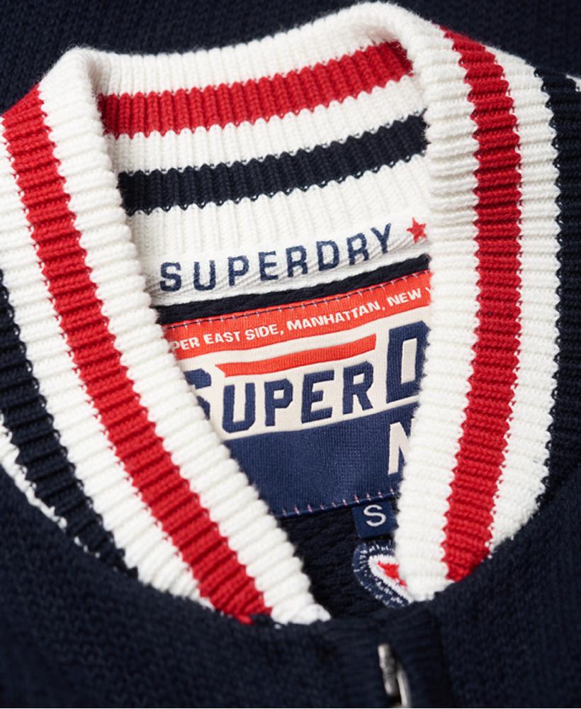 Superdry-Damen-Varsity-Spirit-Bomberjacke miniatura 12