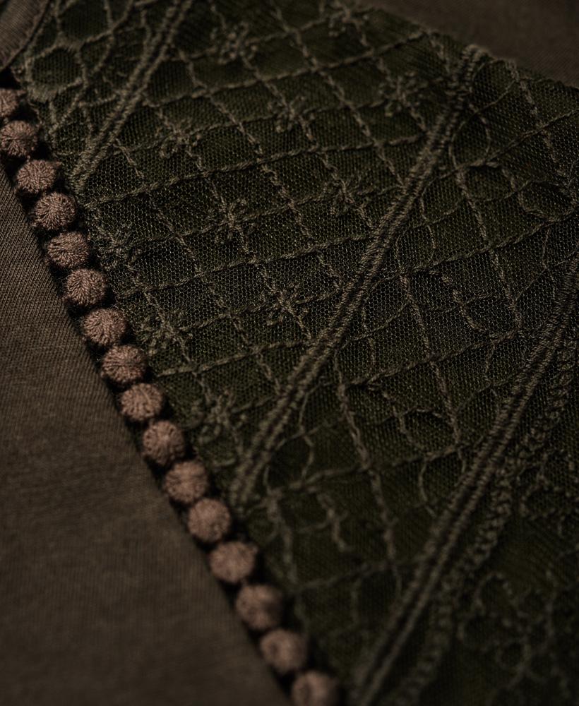 Superdry-Embroidered-Raglan-T-shirt thumbnail 13