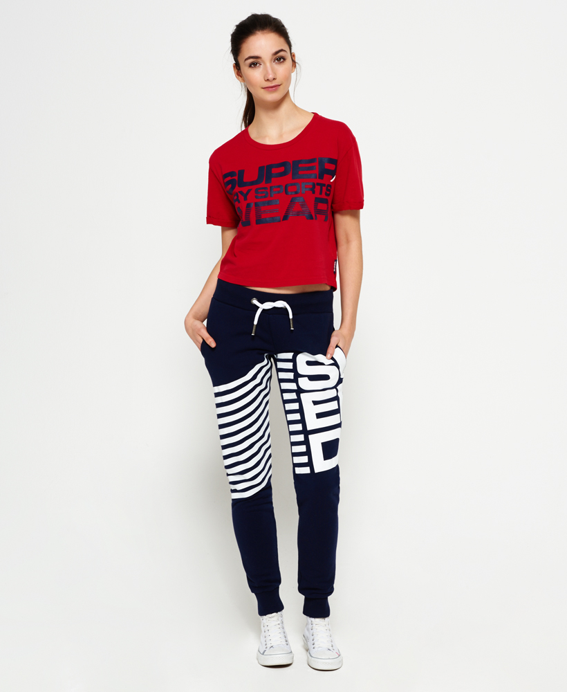 Superdry-Womens-Cropped-T-Shirt thumbnail 13
