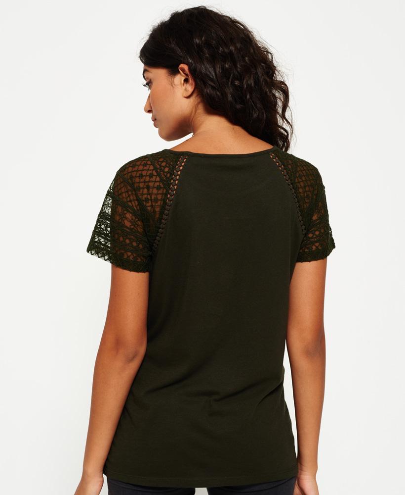 Superdry-Embroidered-Raglan-T-shirt thumbnail 10