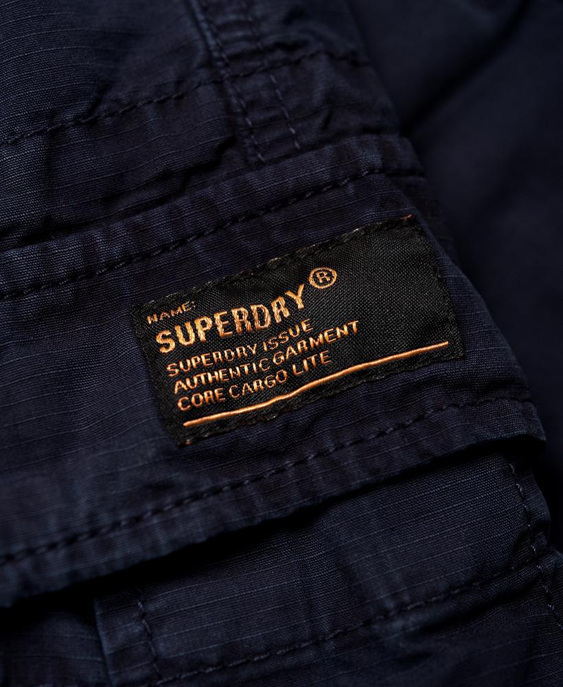 Superdry-Herren-Core-Lite-Ripstop-Cargo-Shorts miniatura 10