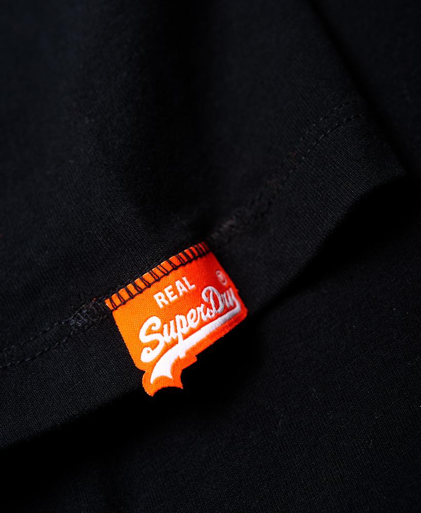 thumbnail 12 - Superdry Mens Orange Label Vintage Embroidery V-Neck T-Shirt