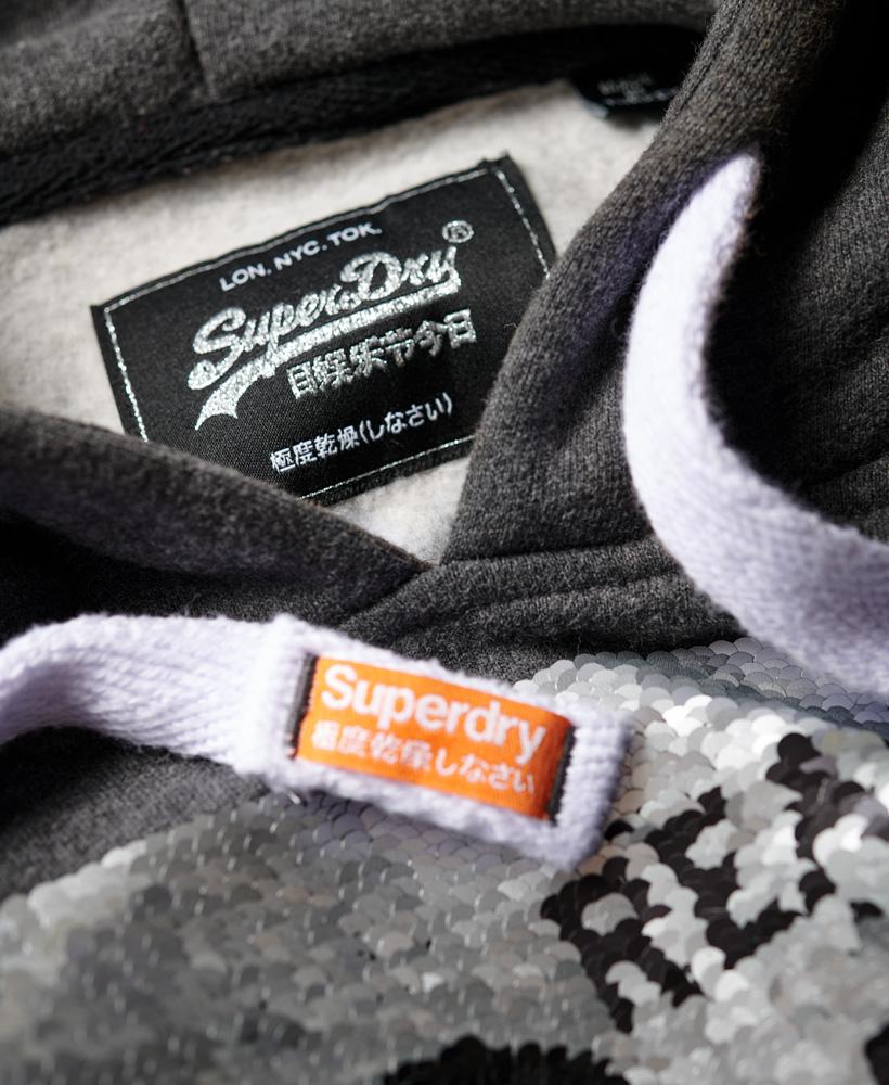Superdry-Premium-Sequin-Hoodie thumbnail 14