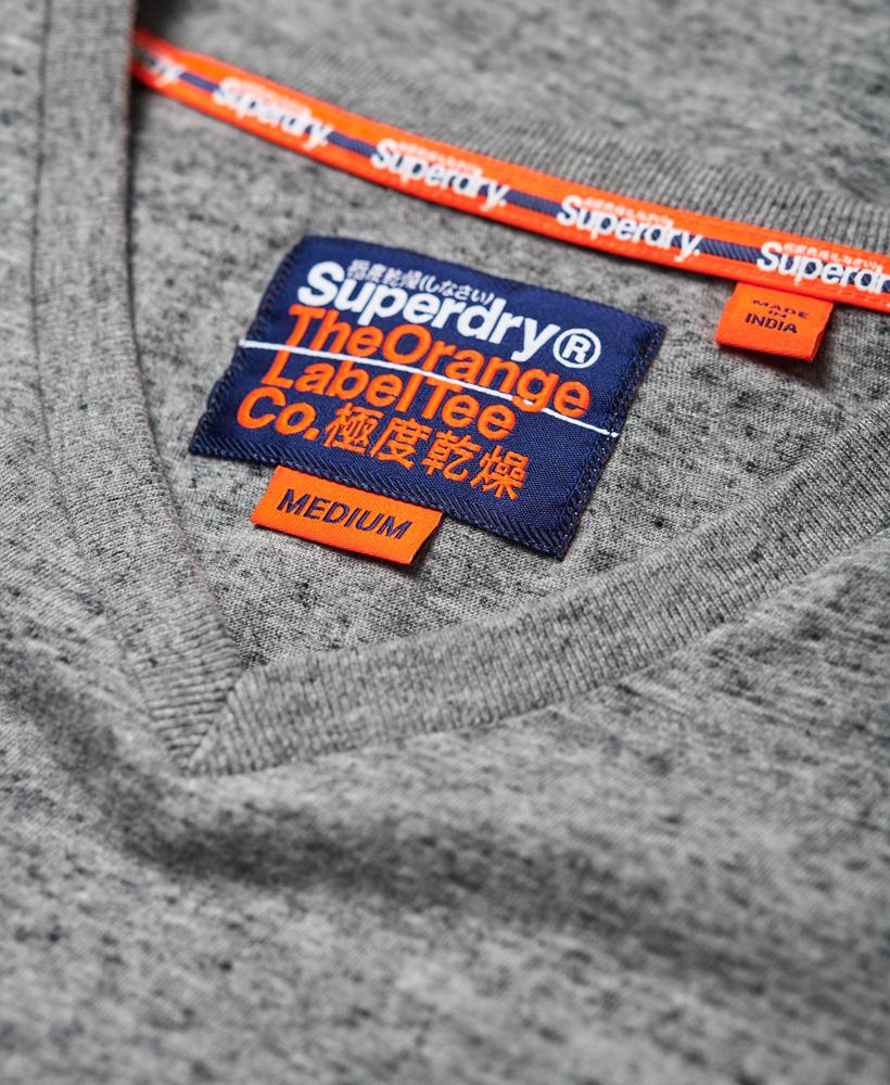 thumbnail 22 - Superdry Mens Orange Label Vintage Embroidery V-Neck T-Shirt