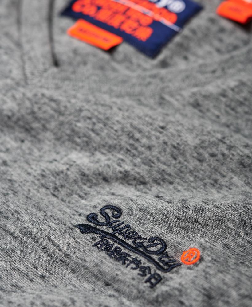 thumbnail 23 - Superdry Mens Orange Label Vintage Embroidery V-Neck T-Shirt