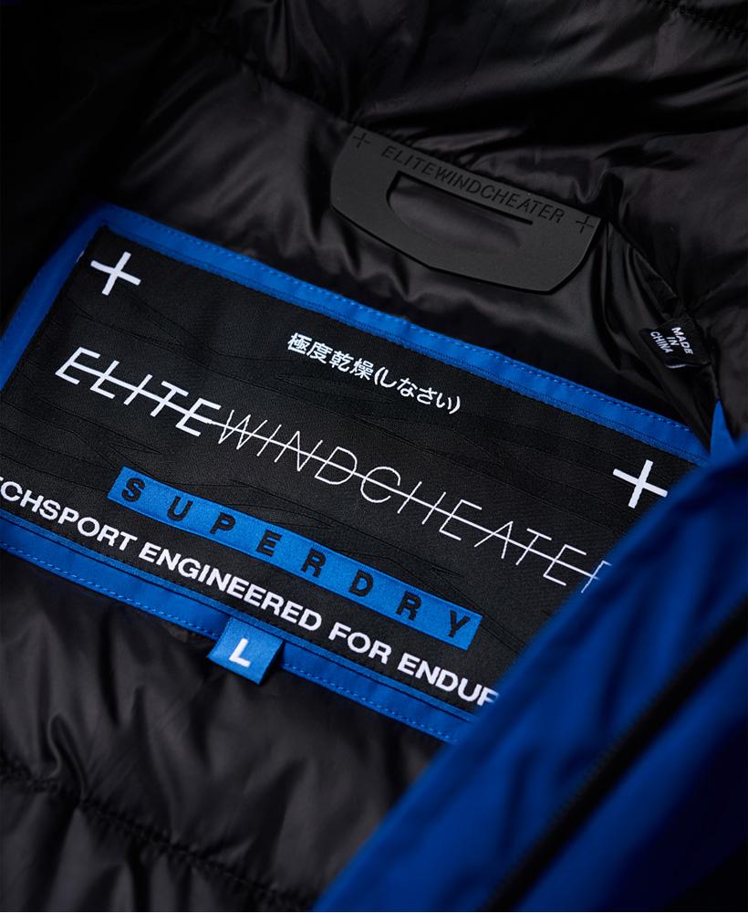 Superdry-Wattierte-Elite-SD-Windcheater-Jacke miniatura 6