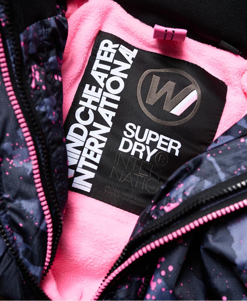 Superdry-Arctic-Hooded-Print-Pop-Zip-SD-Windcheater-Jacket miniatuur 6