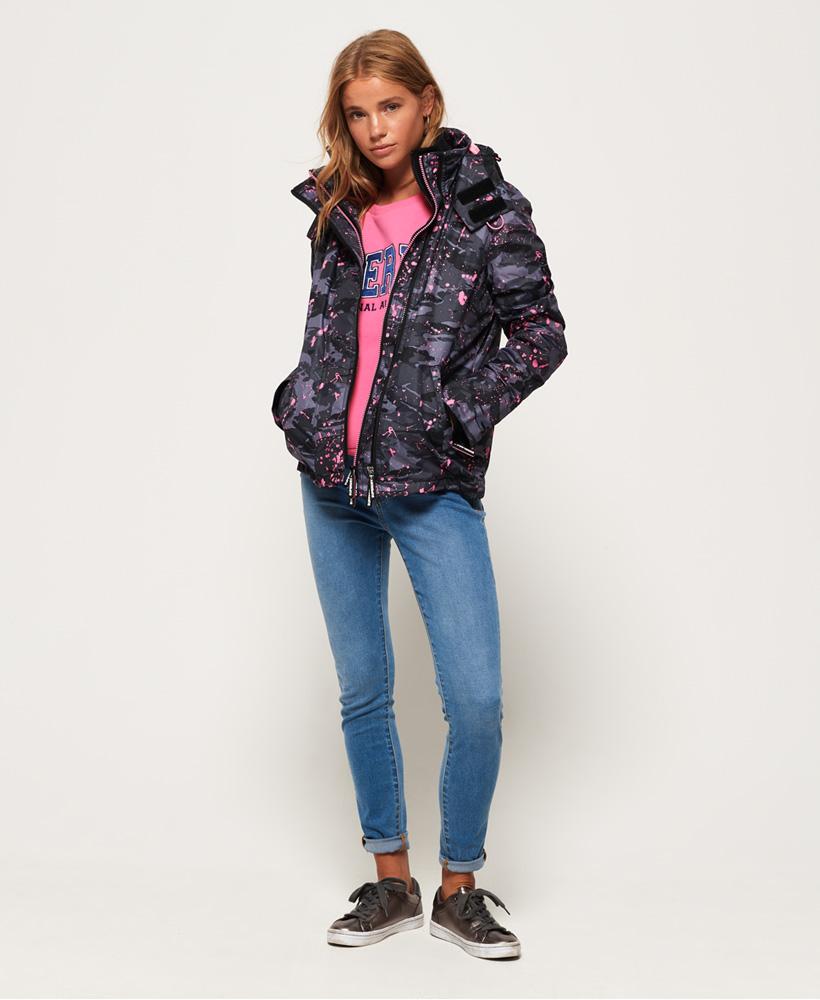 Superdry-Arctic-Hooded-Print-Pop-Zip-SD-Windcheater-Jacket miniatuur 4
