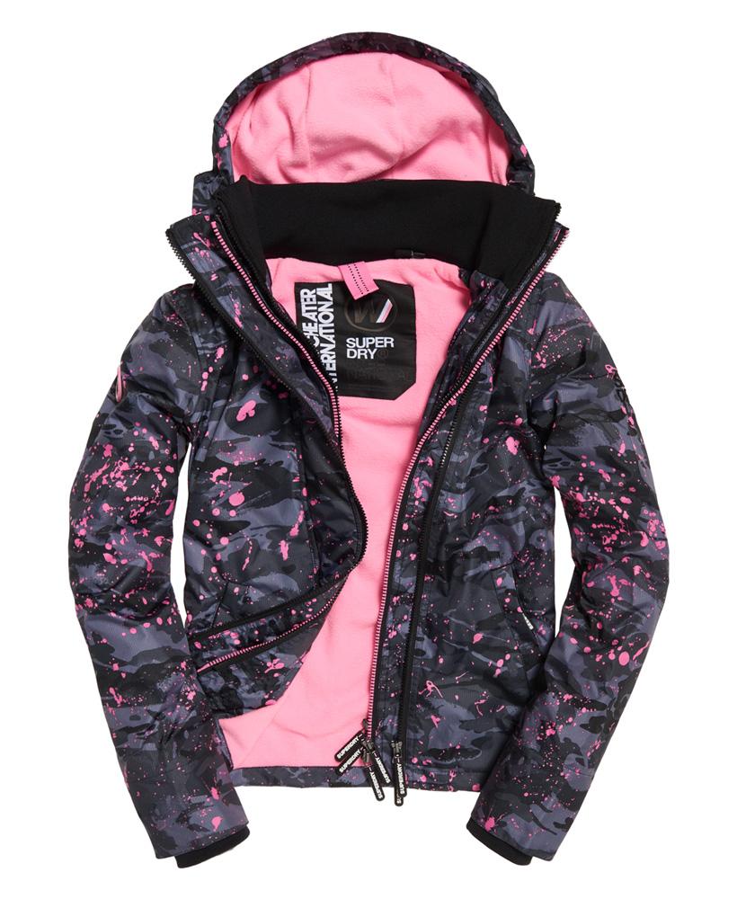 Superdry-Arctic-Hooded-Print-Pop-Zip-SD-Windcheater-Jacket miniatuur 3