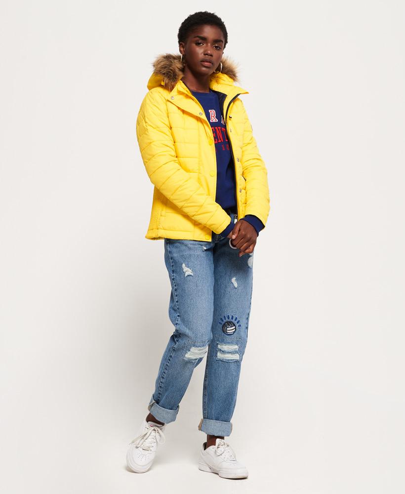 Superdry-Womens-Fuji-Slim-Double-Zip-Hooded-Jacket thumbnail 24