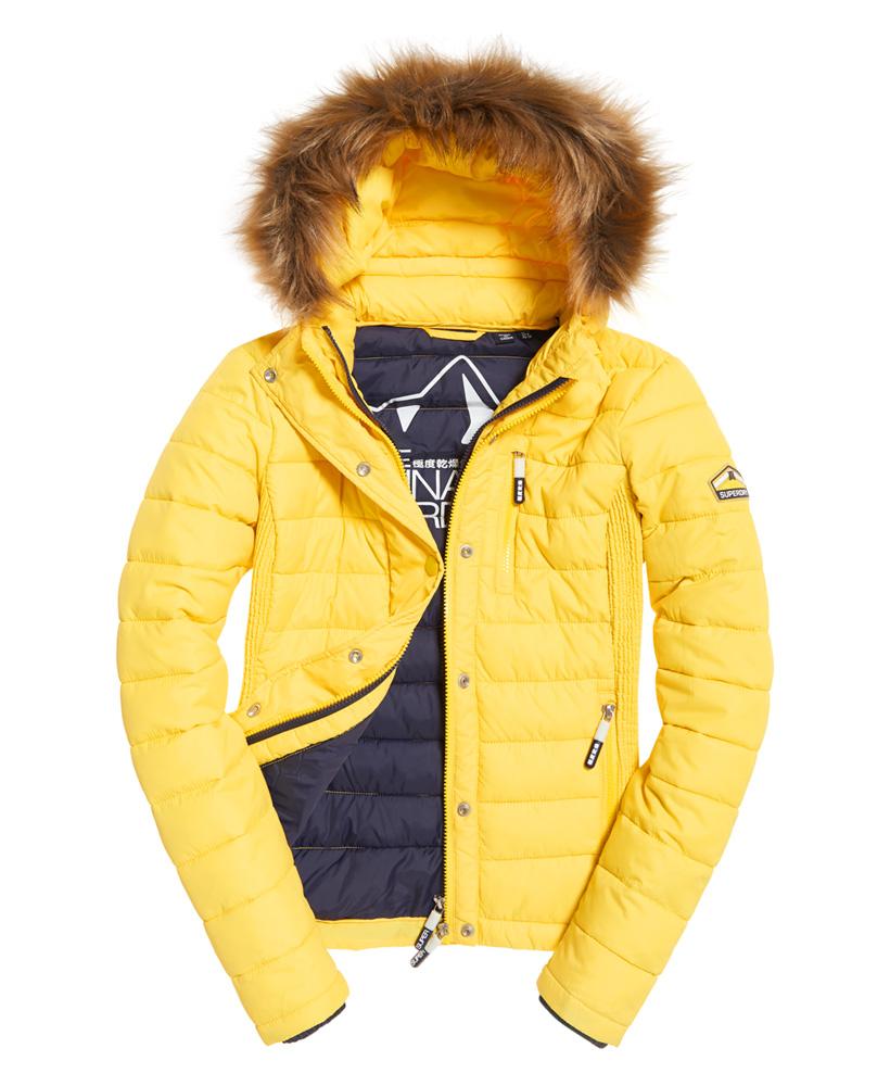 Superdry-Womens-Fuji-Slim-Double-Zip-Hooded-Jacket thumbnail 23