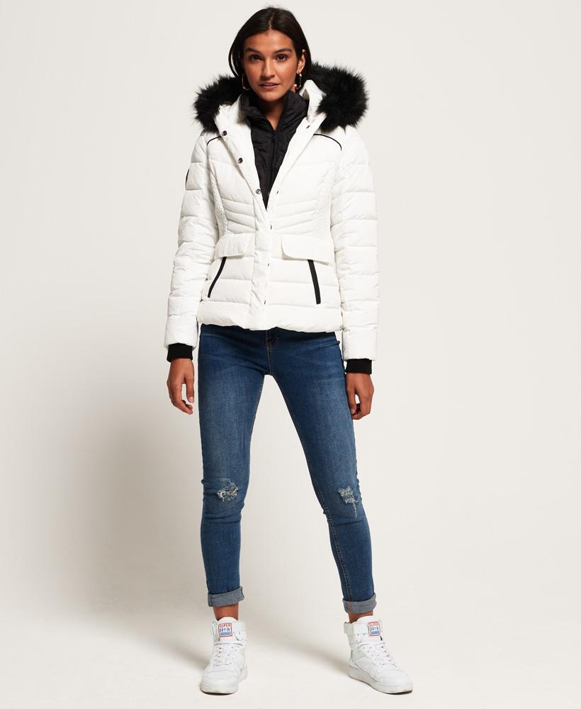 Superdry Womens Glacier Biker Jacket