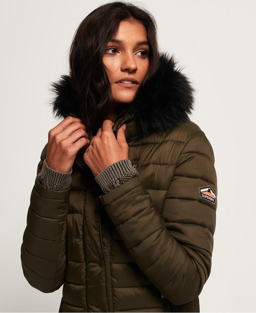 Superdry-Womens-Fuji-Slim-Double-Zip-Hooded-Jacket thumbnail 79