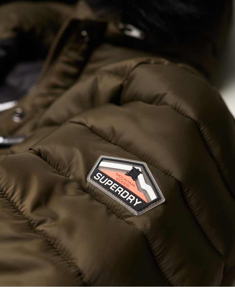 Superdry-Womens-Fuji-Slim-Double-Zip-Hooded-Jacket thumbnail 81