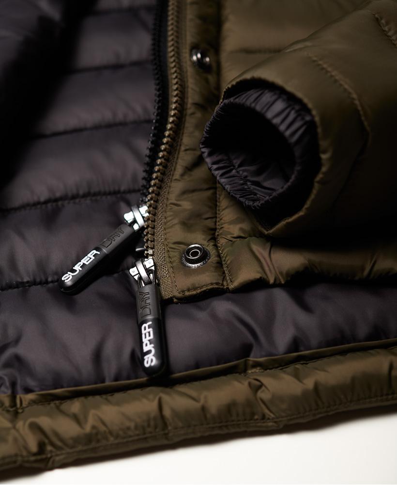 Superdry-Womens-Fuji-Slim-Double-Zip-Hooded-Jacket thumbnail 82